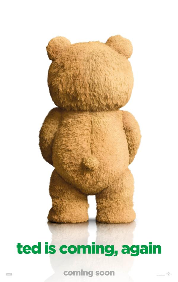 ted 2 new póster