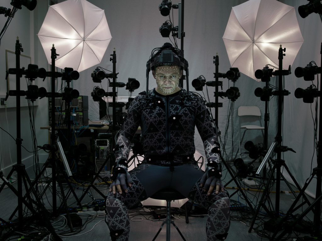 Andy Serkis Motion Capture Suit