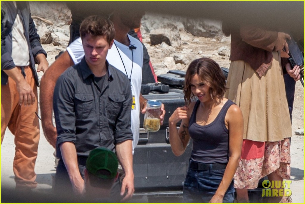 """*EXCLUSIVE* **SHOT ON 6/8/15** Atlanta, GA - The cast and crew of Allegiant are on set in Atlanta filming scenes for their upcoming action movie """"Allegiant - Part 1"""".  The action movie stars Shailene Woodley, Keiynan Lonsdale, Octavia Spencer, Ansel Elgort, and Zoe Kravitz.      AKM-GSI       June 9, 2015 To License These Photos, Please Contact : Steve Ginsburg (310) 505-8447 (323) 423-9397 steve@akmgsi.com sales@akmgsi.com or Maria Buda (917) 242-1505 mbuda@akmgsi.com ginsburgspalyinc@gmail.com"""